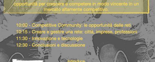 Comunità Competitiva: fare rete nel sistema turistico